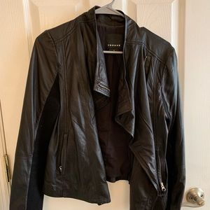 Trouve for Nordstrom Black Leather Jacket sold out